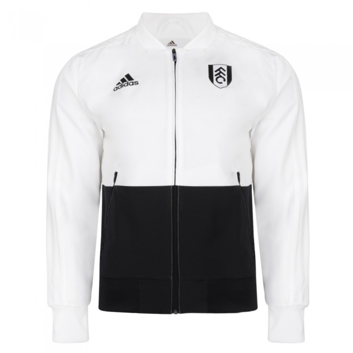 TW18 Fulham Youth White Presentation Jacket