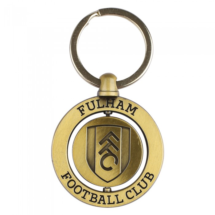 Fulham FC Double Sided Crest Keyring