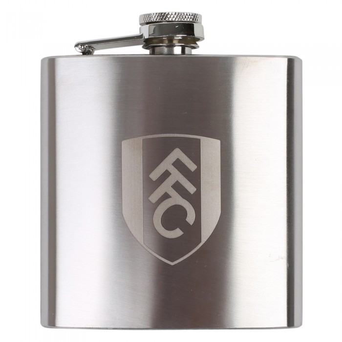 Fulham FC Silver Hip Flask