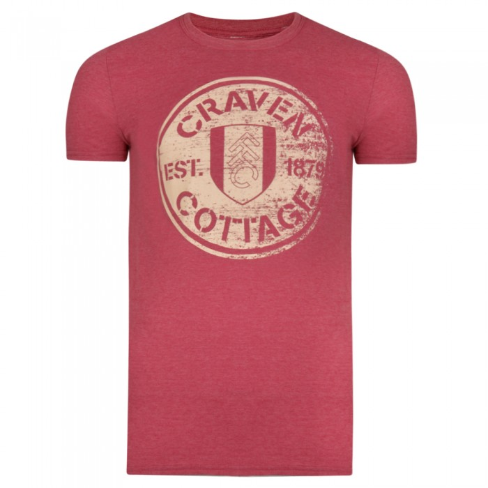Craven Cottage Tee Red Heather