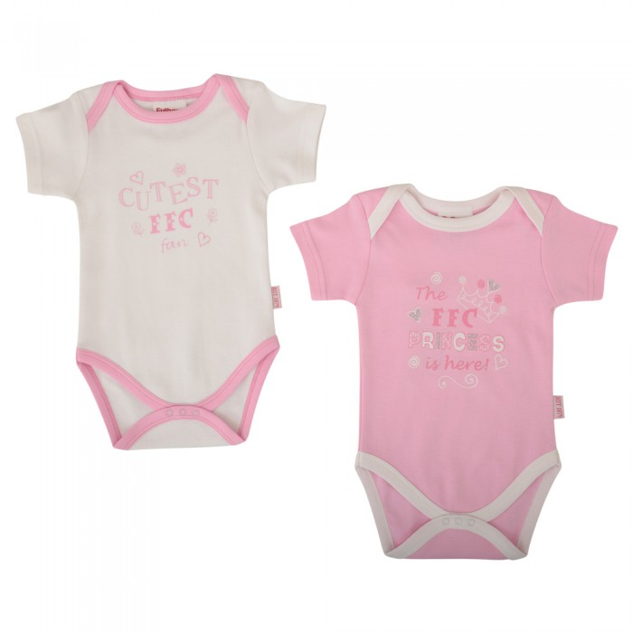 Princess 2 Pack Bodysuit - Girls