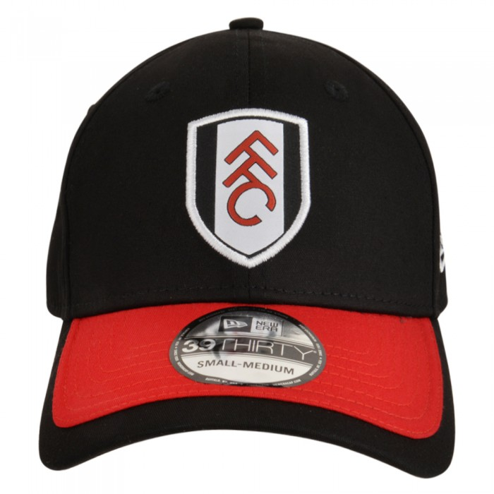 New Era FFC 39Thirty Black Red Visor Cap