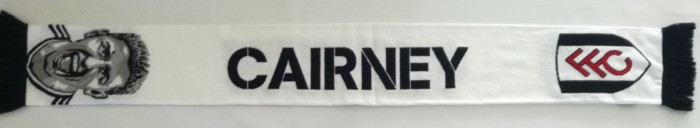 Cairney Scarf White/Black