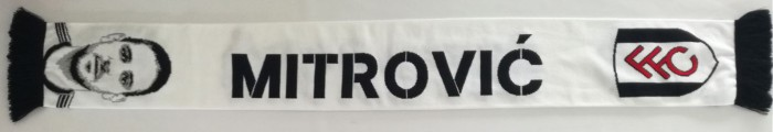 Mitrovic Scarf White/Black