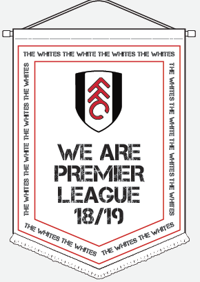We are Premier League Pennant