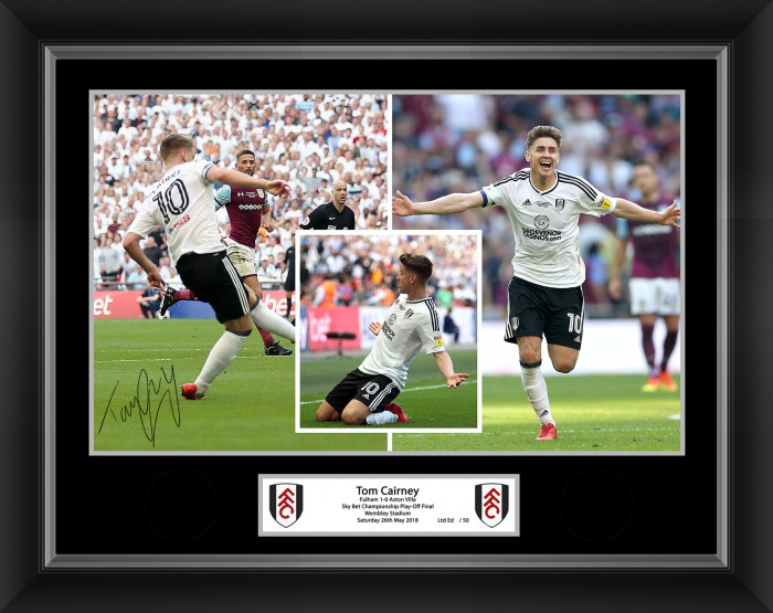 Tom Cairney Celebration Picture (16x12)