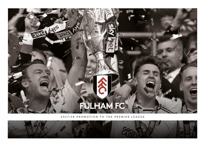 Fulham FC 17/18 Promotion Book