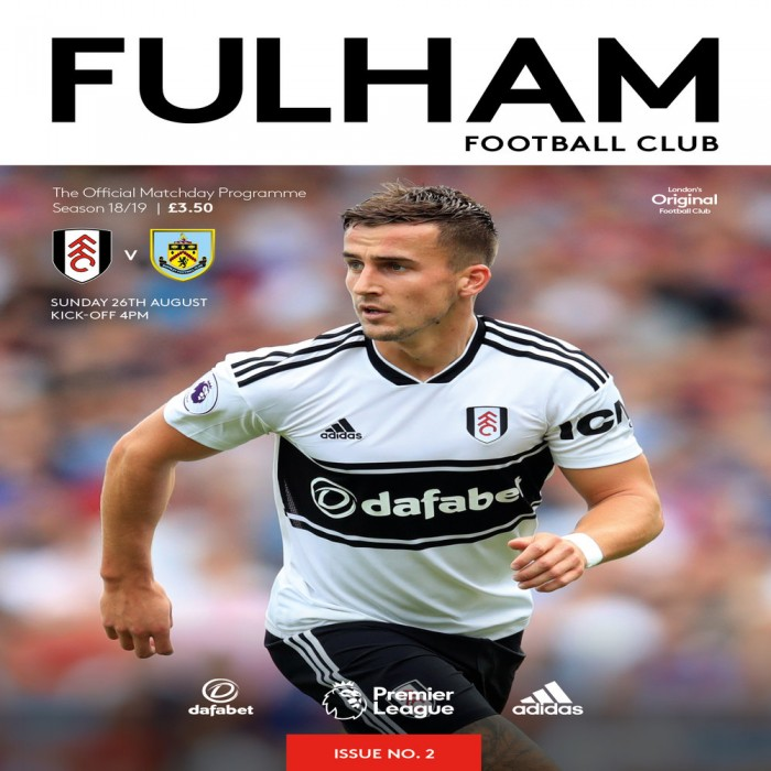 Match Programme - Burnley