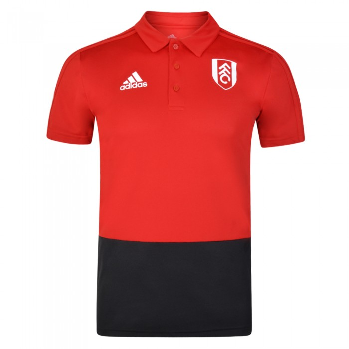 SS19 Mens Red Training Polo