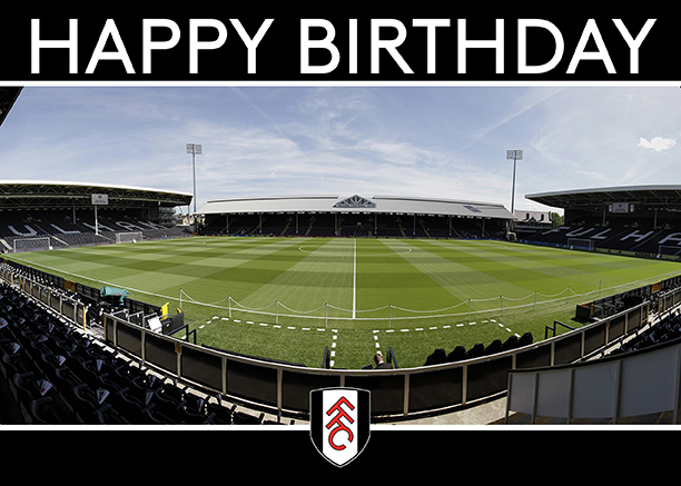 Happy Birthday Card (Craven Cottage)