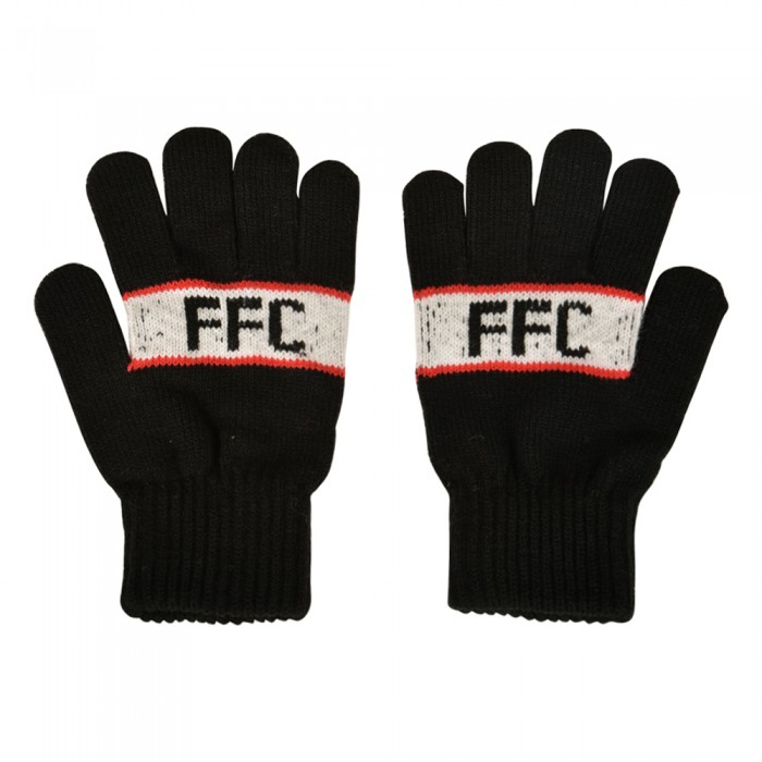 AW19 Adult Jacquard Gloves - Text