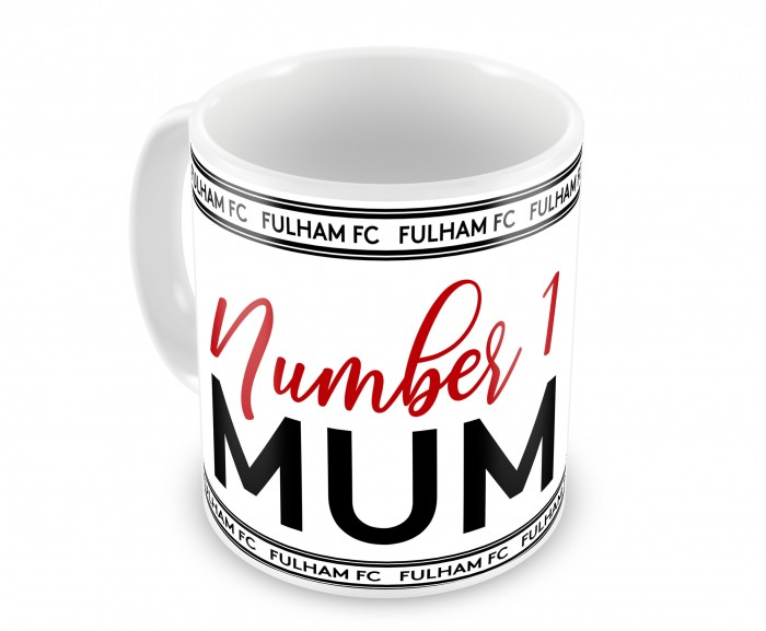 Number One Mum Mug