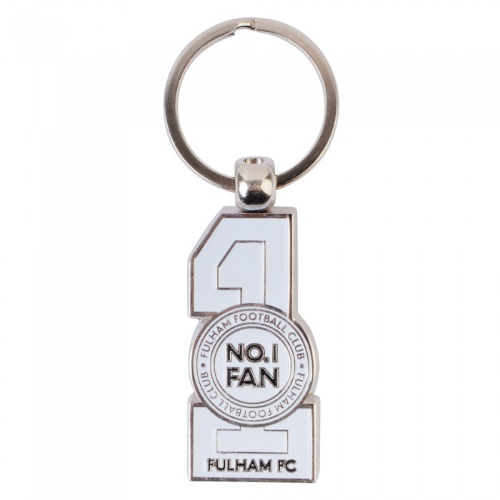 Die Cut No.1 Fan Keyring