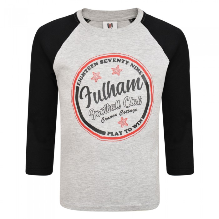 AW19 Kids Raglan Long Sleeve T-shirt