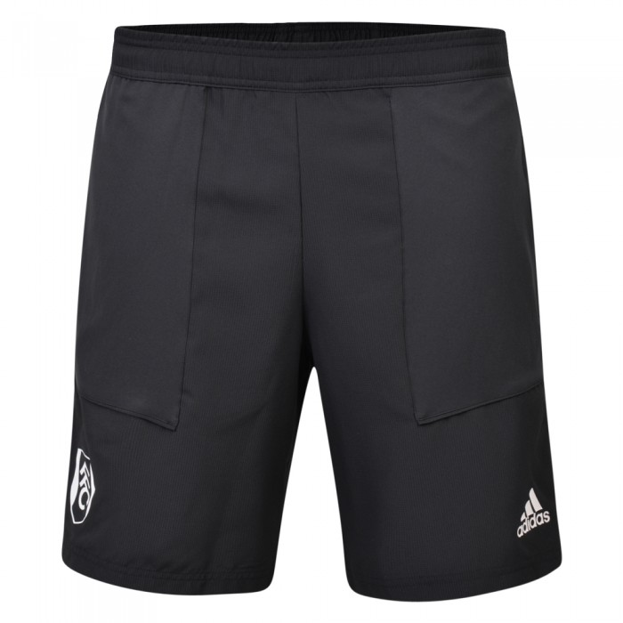 TW19 Mens Black Woven Shorts