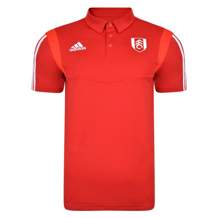 TW19 Mens Red Training Polo
