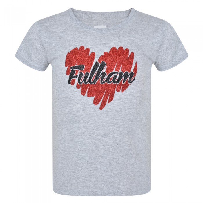 AW19 Girls Glitter Heart Tee
