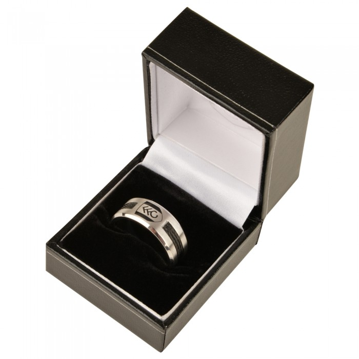 Stainless Steel Crest Ring