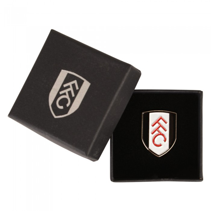 Fulham Boxed Colour Crest Badge