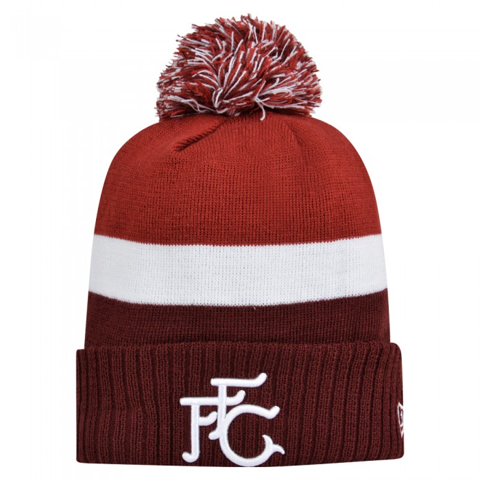 New Era FFC Retro Cuff Knit Bobble Beanie