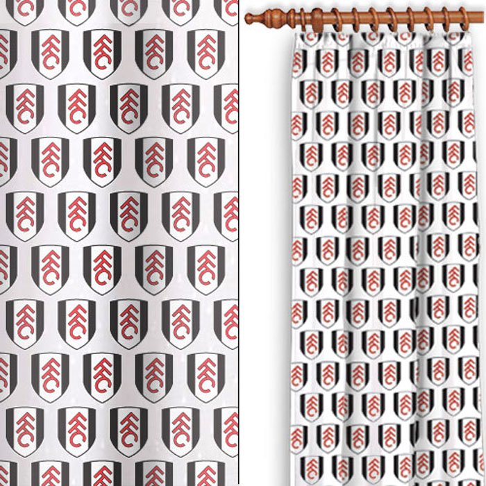 Fulham Multi Crest Curtains 54