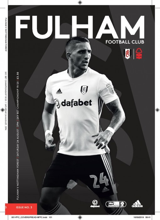 Match Programme - Nottingham Forest