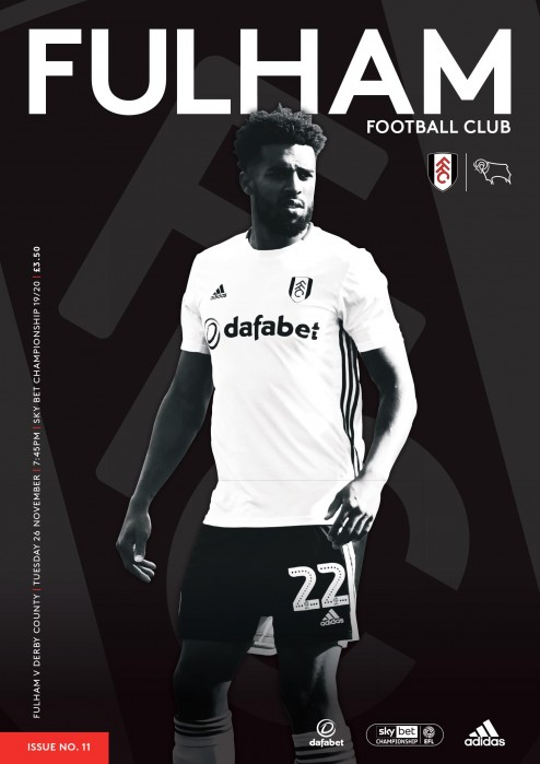 Match Programme - Derby County