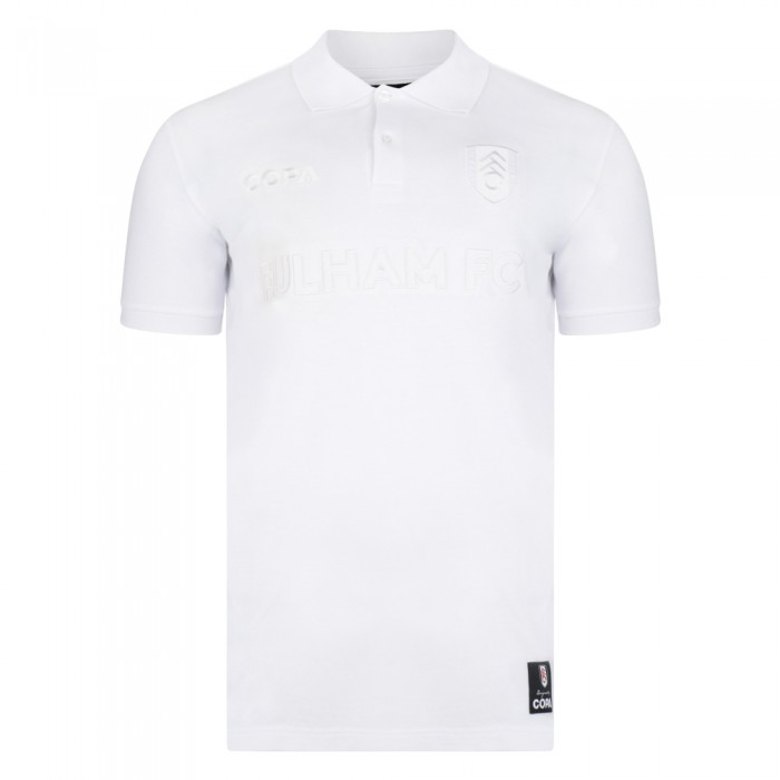COPA White on White Polo