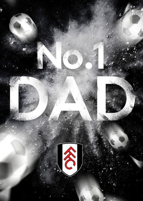 No 1 Dad Card