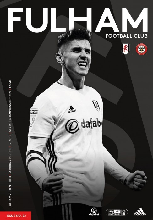 Match Programme - Brentford