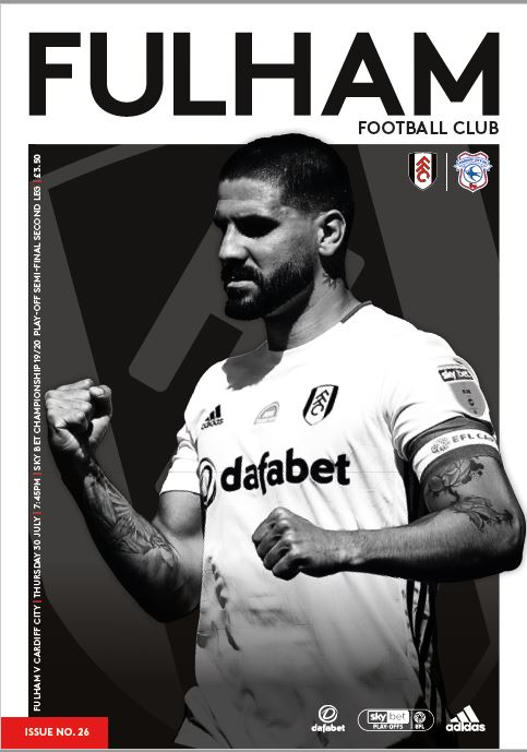 Semi Final Play Off Match Programme - Cardiff