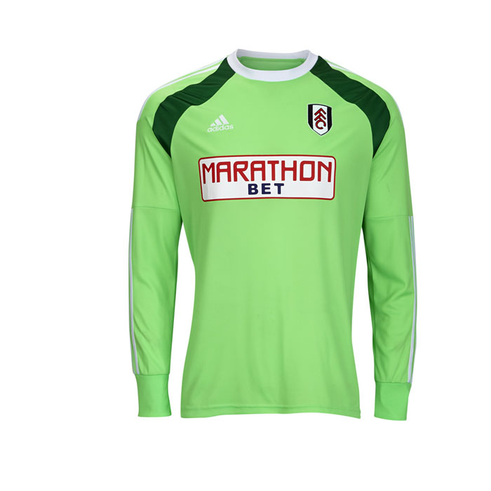 Adidas Fulham Home GK Shirt Adults 14/15