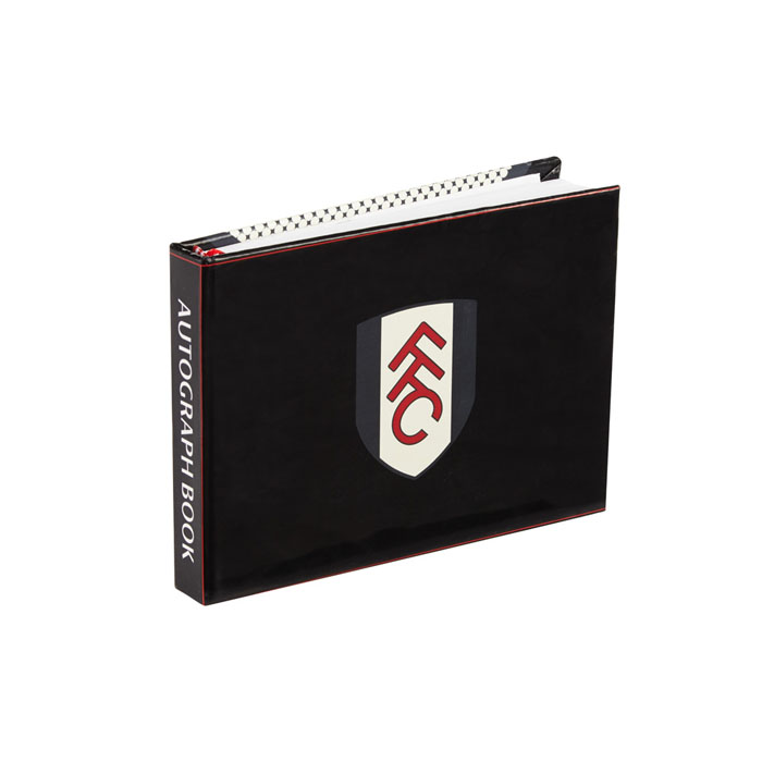 Fulham Autograph Book and Pen