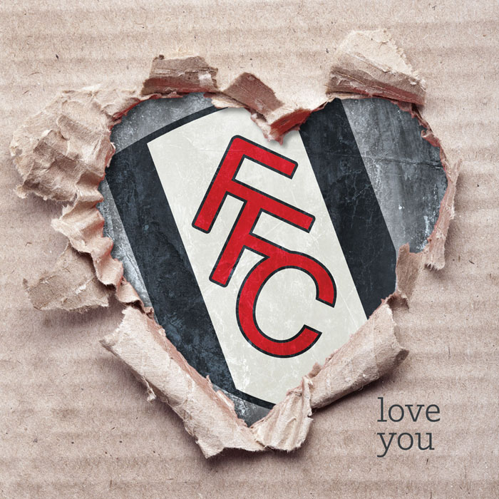 FFC Ripped Heart Card