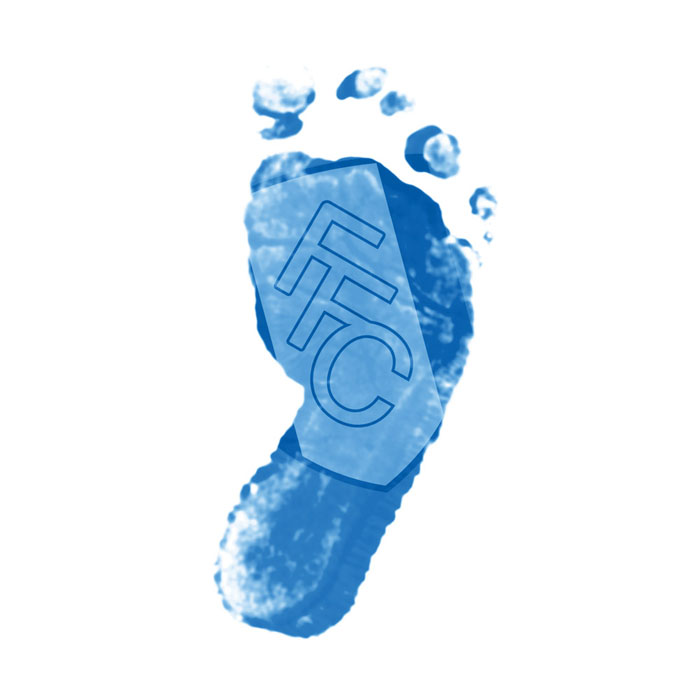 FFC Baby Boy Footprint Card