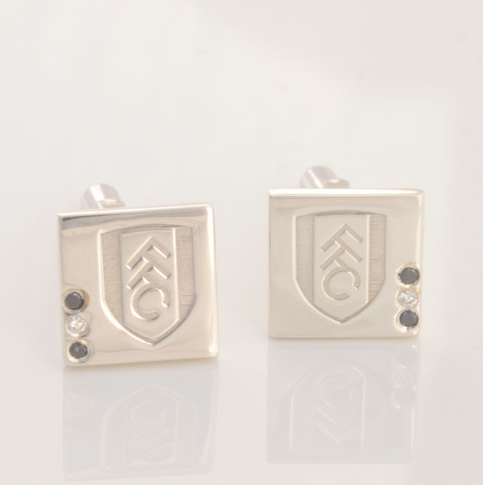 1879 Diamond Cufflinks