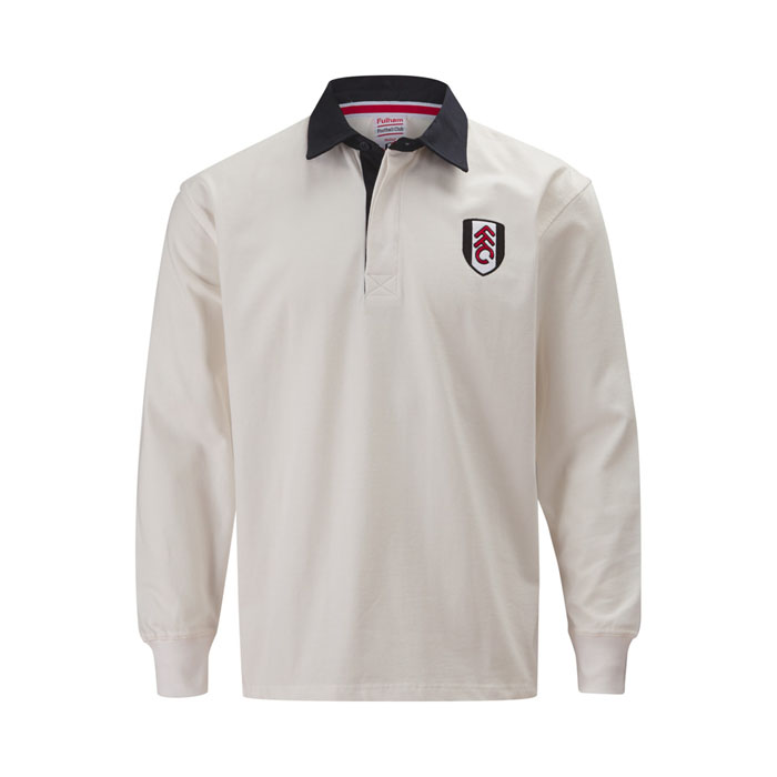 Fulham Kids Home Rugby Shirt