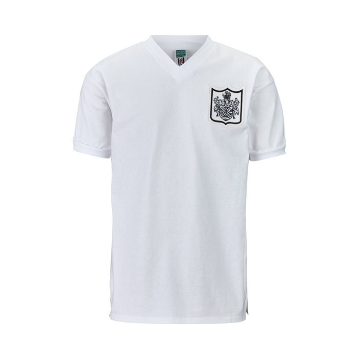 Fulham Football Club 1960 Home V Neck Retro Shirt