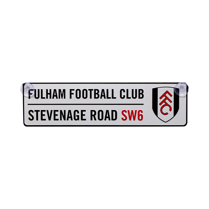 Fulham Window Street Sign