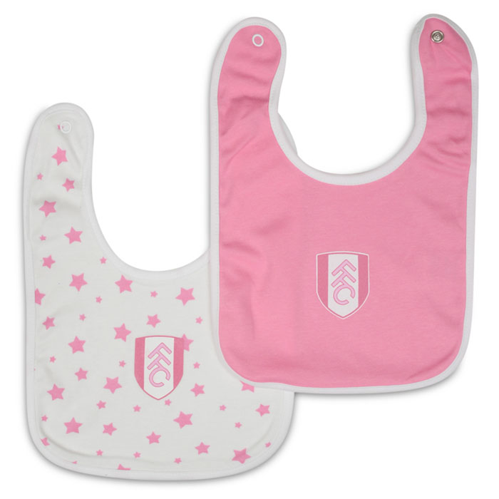 Fulham Girls 2 Pack Bibs 16/17