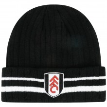 Fulham Black Turn Up Beanie
