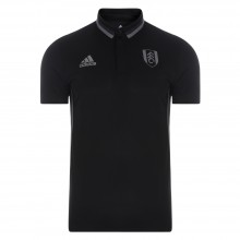 Adidas 16/17 Fulham Black Travel Polo