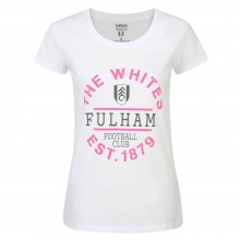 Ladies Fulham The Whites T-shirt White