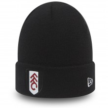New Era FFC Basic Cuff Black Hat