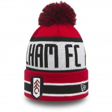 New Era FFC Jake Bobble Knit Hat Red/Multi