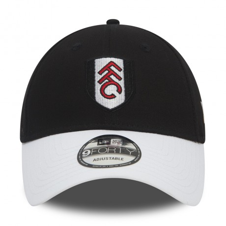 New Era FFC 9Forty Basic Visor Blk/Wht
