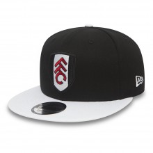 New Era FFC 9Fifty Basic Blk/Wht Visor