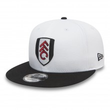 New Era FFC 9Fifty Basic White/Blk Visor