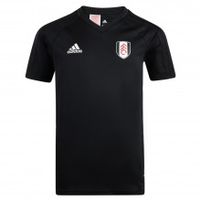 adidas 17/18 Fulham Black Training Jersey Adults