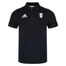 Adidas 17/18 Fulham Black Travel Polo